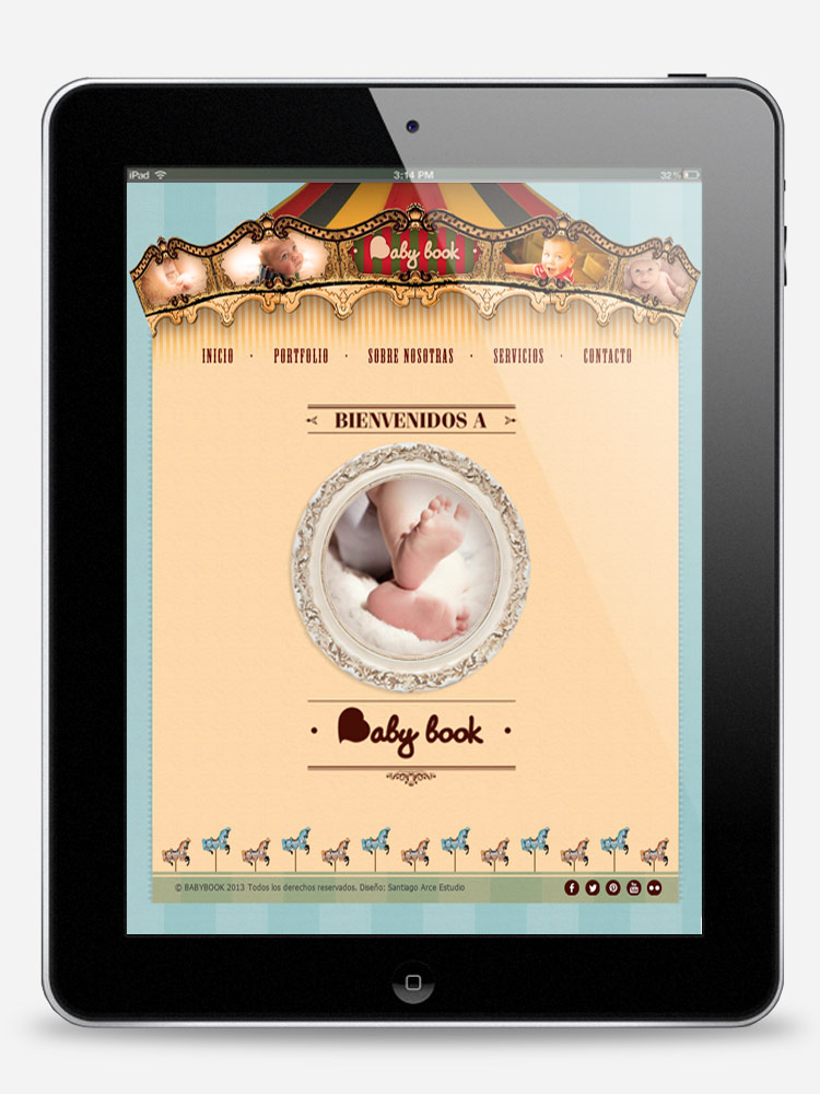 Baby book web